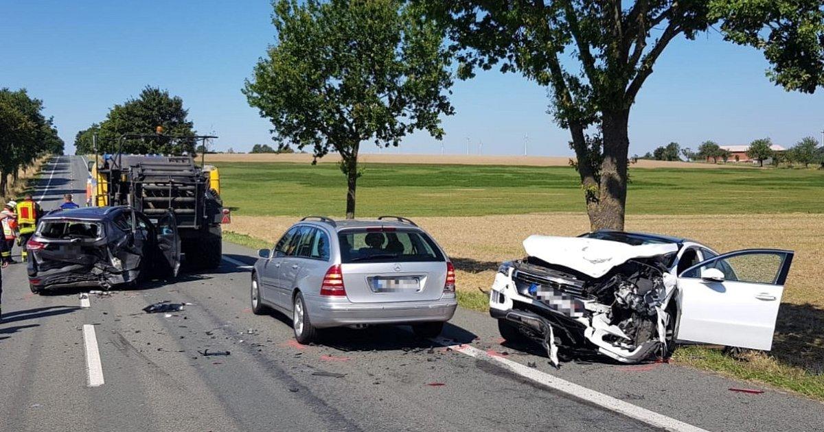 Unfall B68 Bersenbrück heute | bramsche/ b68 - bei einem