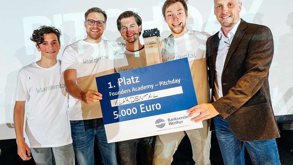 Start-up: Geschäftsidee für ein schönes Lächeln - nw.de