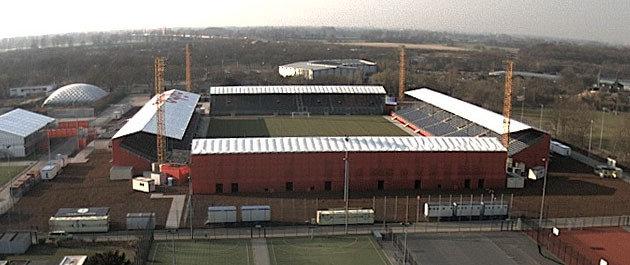 d sseldorf mobiles stadion bereit f r arminia neue westf lische dsc arminia bielefeld. Black Bedroom Furniture Sets. Home Design Ideas