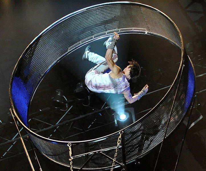 artist im zirkus flic flac in bielefeld abgest rzt neue westf lische mitte. Black Bedroom Furniture Sets. Home Design Ideas